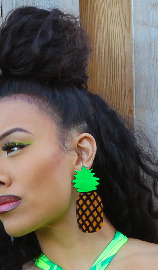 STATUS AVENUE™ fineapple earrings