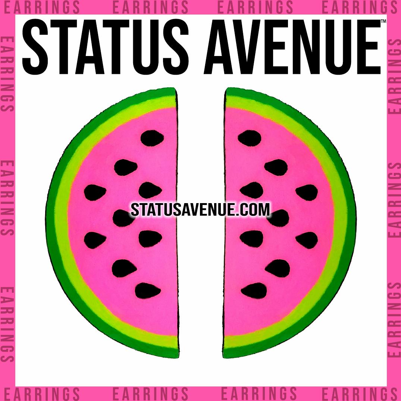 STATUS AVENUE™ WOW Melon earrings web.pn
