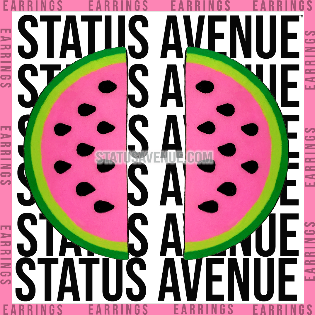 STATUS AVENUE™ Wow Melon™ earrings green