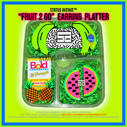 STATUS AVENUE™ FRUIT 2 GO EARRING PLATTE