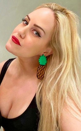 Beckerman blog twins wearing Status Avenue™ earrings
