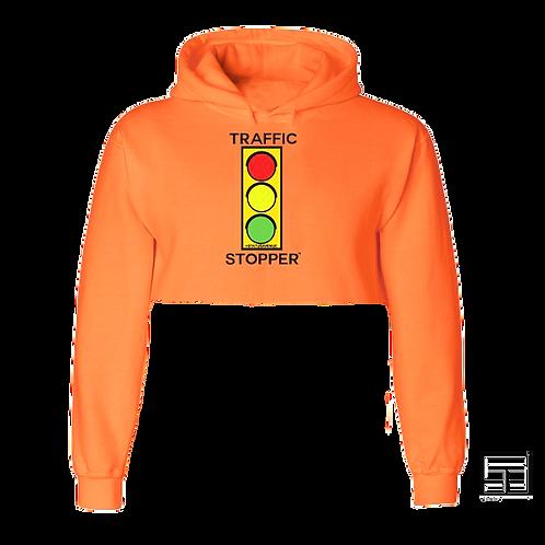 TRAFFIC STOPPER™ Crop Hoodie