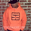 Thumbnail: Status Avenue Neon Orange Hoodie