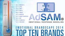AdSAM® 2014 Brand Study - Top Ten Brands