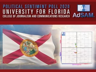 POLITICAL SENTIMENT POLL 2020 – University for Florida College of Journalism and Communications Rese