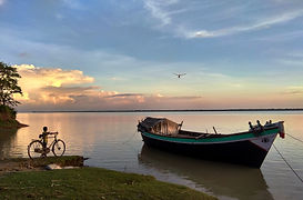 Anupam Mukherjee_beside the river