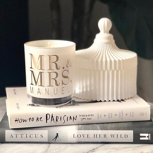 Single Wedding Candle