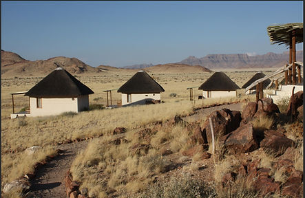 The Desert Homestead in Sossusvlei (photograph by Distant Horizons Malta)