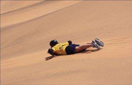 Sandboarding Namibia
