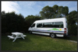 New Zealand - camper van South Island
