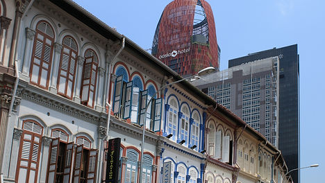 Classic and Modern - Singapore (photograph by Distant Horizons Malta)