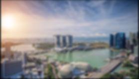 Singapore Skyline with Marina Bay Sands