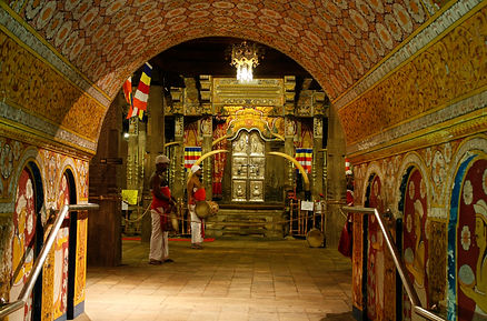 Sri Lanka - Temple of the Tooth in Kandy
