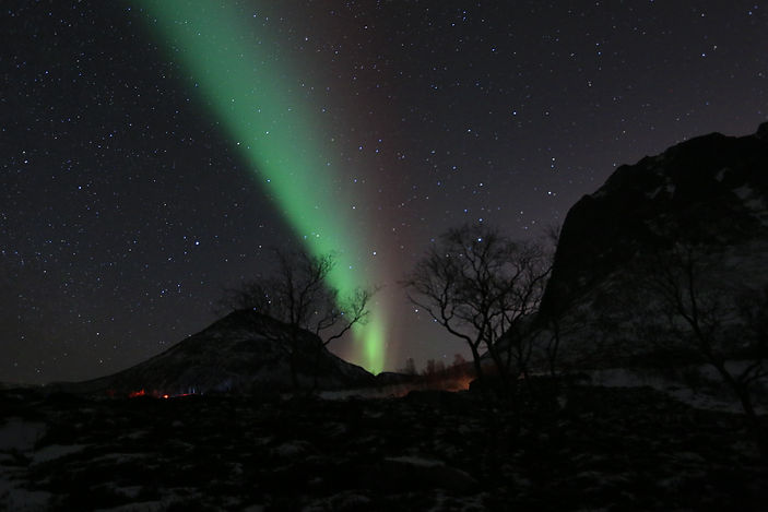 Northern Lights - near Tromso Norway