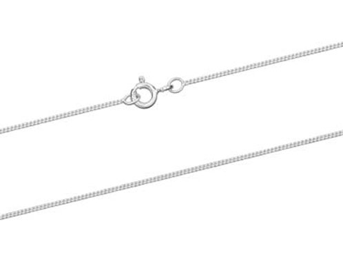 "18"" Sterling Silver Diamond Cut Chain"