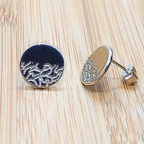 Organic Half Vine Earrings