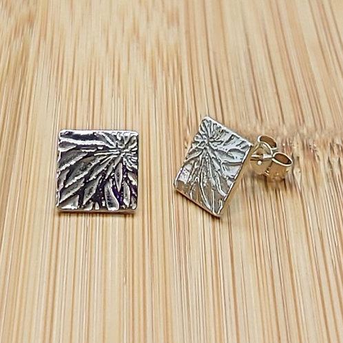 Petal Print Earrings