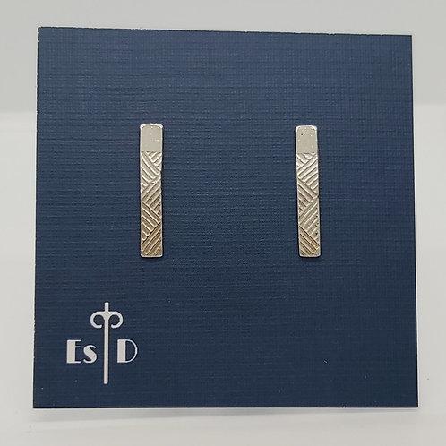 Art Deco Line Earrings