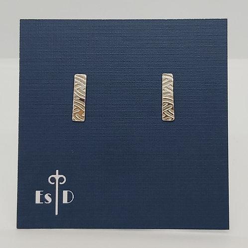 Art Deco Wave Pattern Earrings