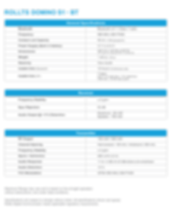 DominoS1-SPECIFCATIONS