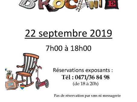 Brocante à Tintigny le 22 septembre