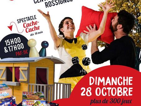Salon du jeu durable ce 28 octobre à Rossignol