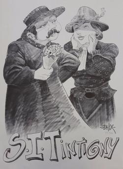 Chopin et Lorette par Palix