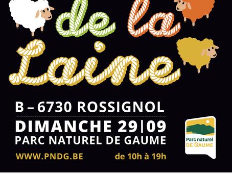 Fête de la laine à Rossignol le 29 septembre