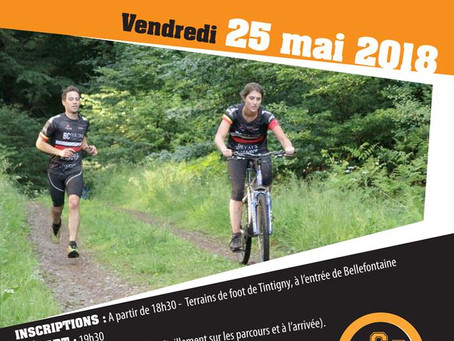 Run & Bike à Tintigny le 25 mai 2018