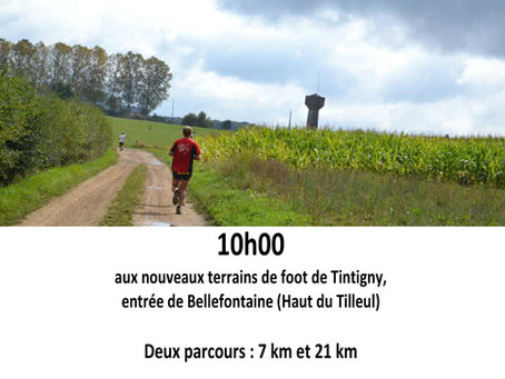 Semi-Marathon Pol-David, le 15 septembre à Tintigny