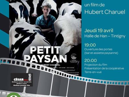 Soirée Cinéma Halle de Han ce 17 avril