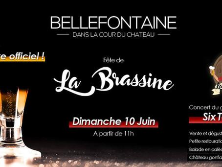 Fête de la Brassine, le dimanche 10 juin à Bellefontaine