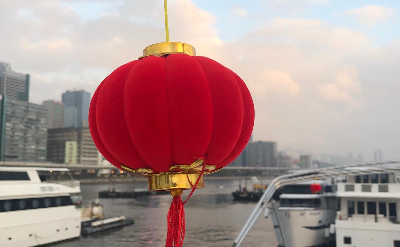 CNY lanterns