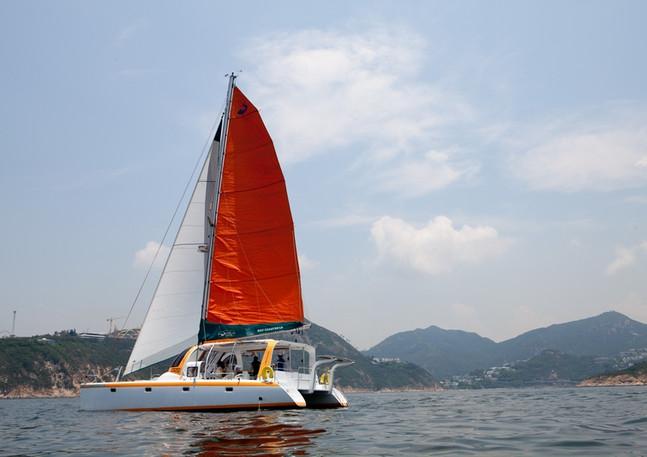 Escape - Catamaran in HK
