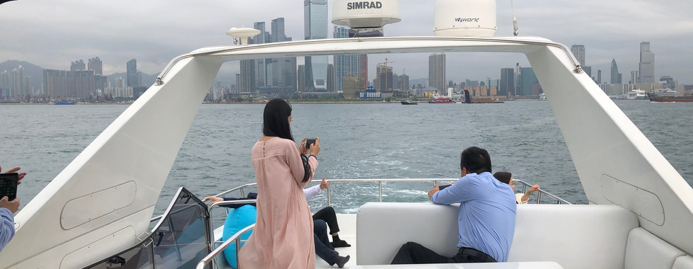 Harbour cruise for clients