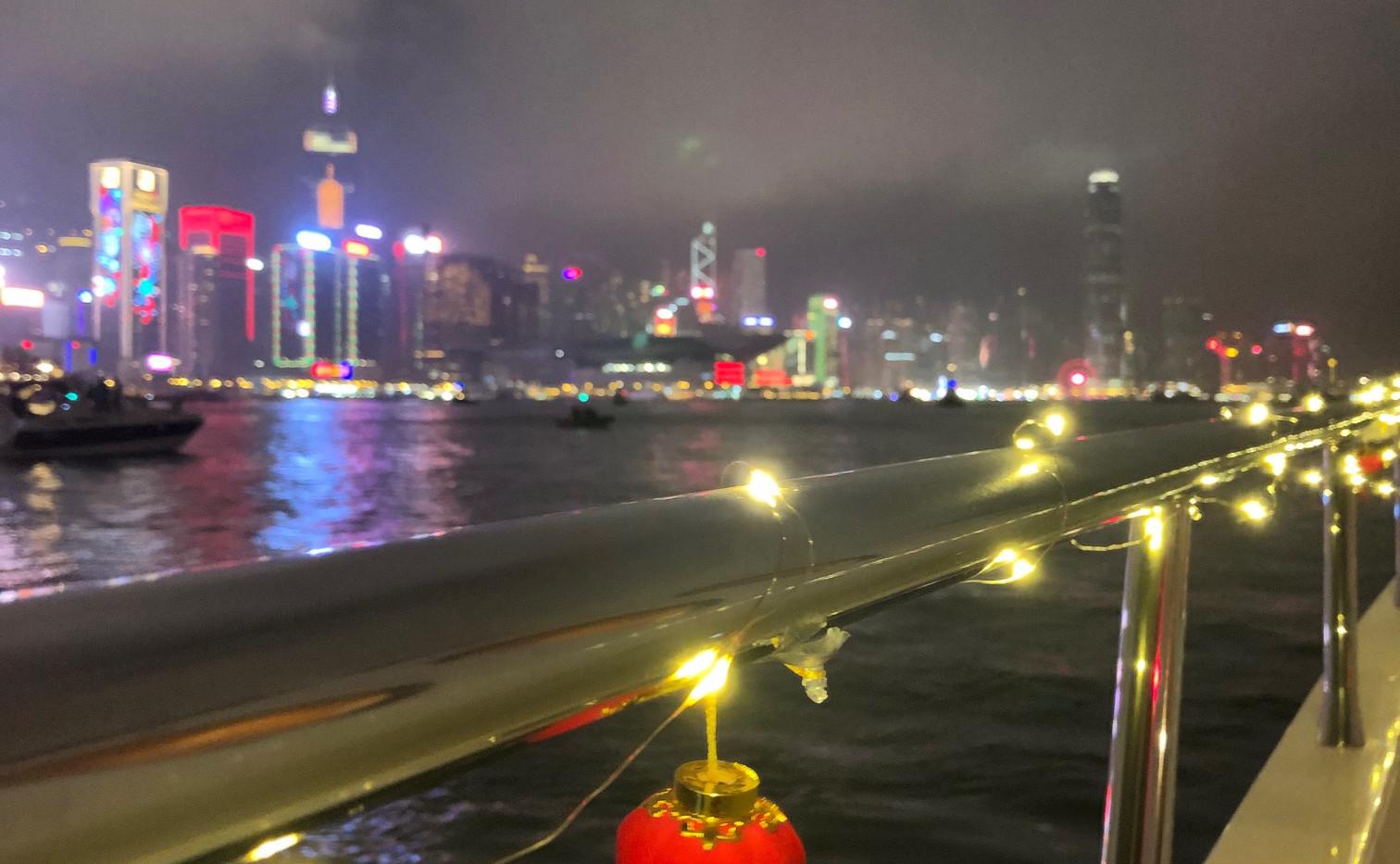 CNY fireworks on Infinity