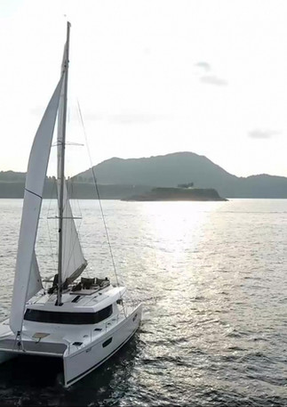 The SABA - Catamaran in HK