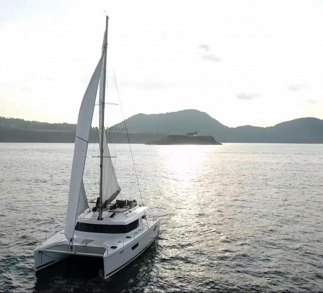 The SABA - Catamaran in HK