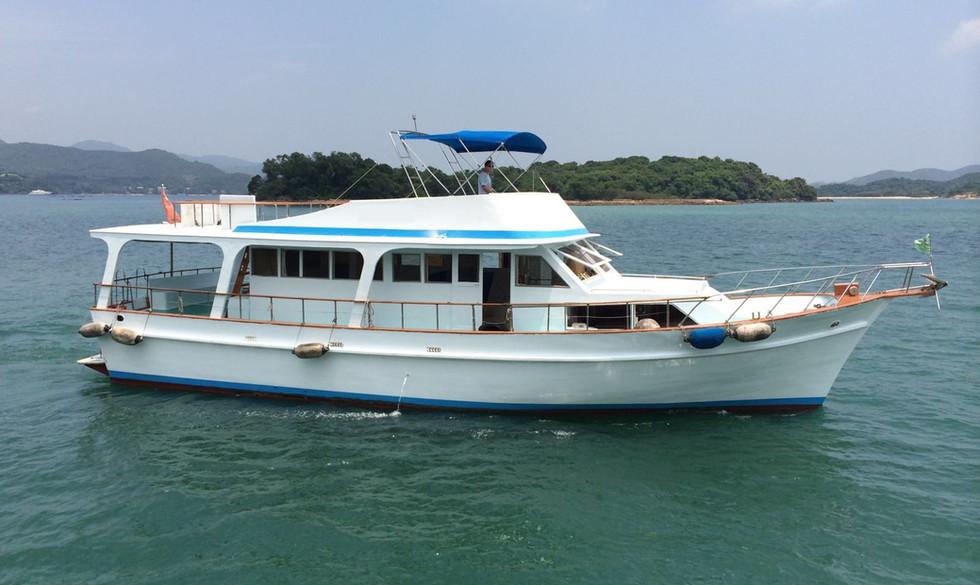 Junk boat Sai Kung
