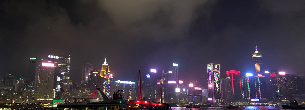 Victoria Harbour before Fireworks