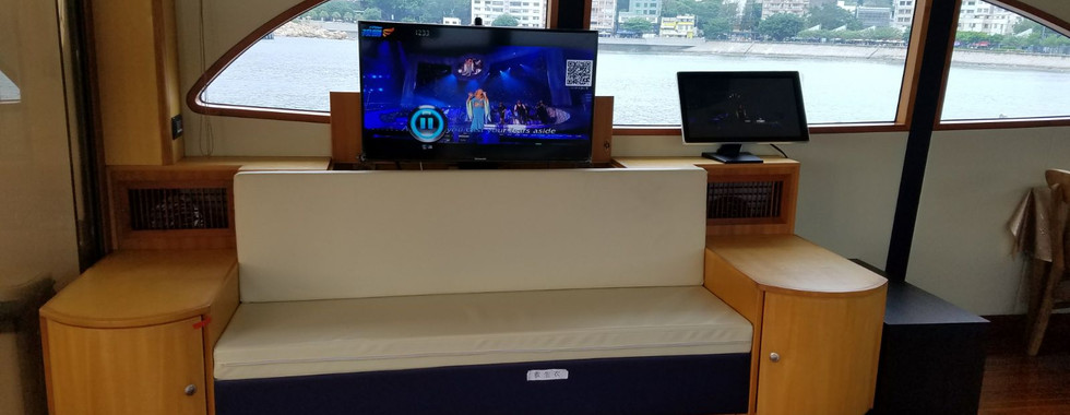 Entertainment on boat