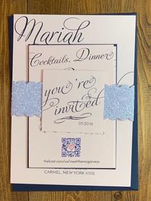 You & I Wedding Invitation Suite