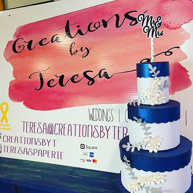 #creationsbyteresa #papercake #wedding #