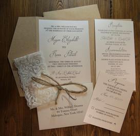 Rustic & Lace Wedding Suite