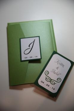 Emerald Wedding Pocket