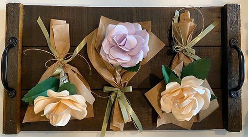 Paper Bouquet Roses