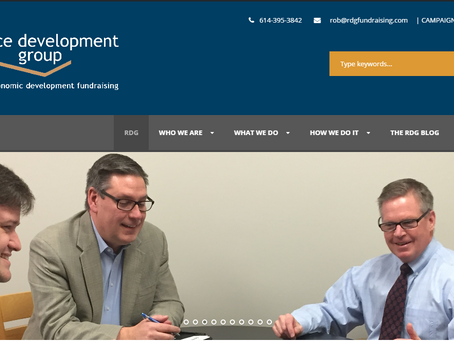 RDG Gets a New Website