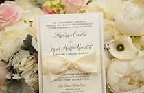 Custom wedding invitations signs and props NY