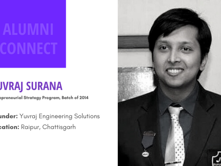 Alumni Connect - Yuvraj Surana