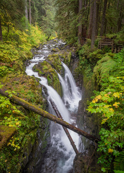 Sol Duc River Waterfall